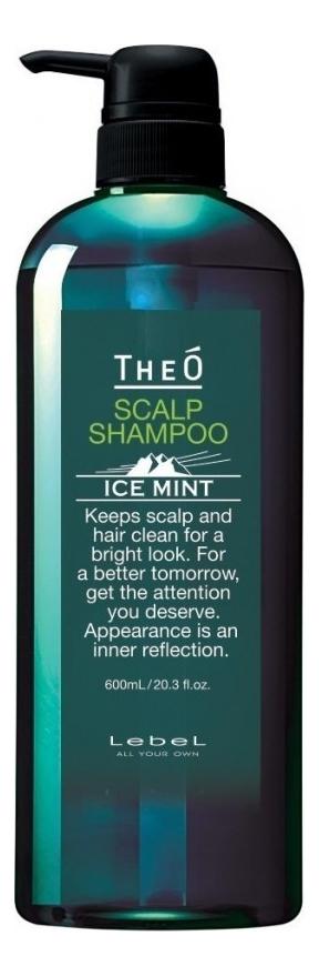 Шампунь для волос Theo Scalp Shampoo Ice Mint: Шампунь 600мл фото