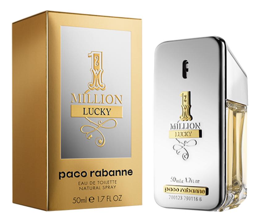 цена Paco Rabanne 1 Million Lucky: туалетная вода 50мл онлайн в 2017 году