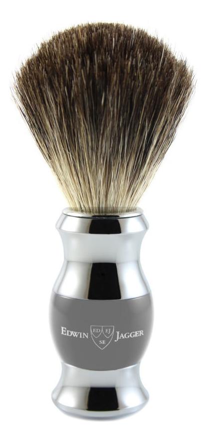 Помазок для бритья 81SB355CR (щетка барсучий ворс) помазок для бритья 81sb353cr щетка барсучий ворс