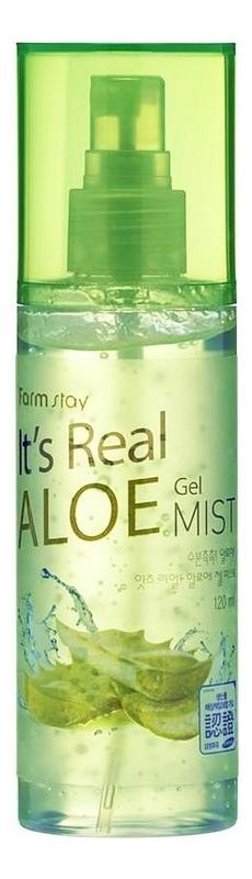 Мист для лица с экстрактом алоэ вера It's Real Aloe Gel Mist 120мл