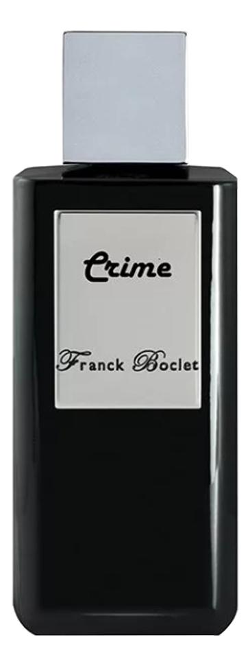 Franck Boclet Crime: духи 100мл тестер
