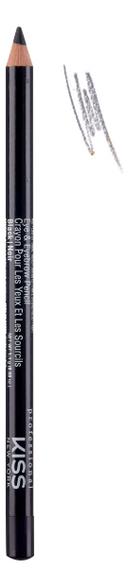 Купить Контурный карандаш для глаз Eye & Eyebrow Pencil 1, 1г: Black, Контурный карандаш для глаз Eye & Eyebrow Pencil 1, 1г, KISS New York Professional