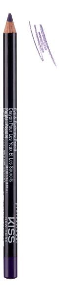 Купить Контурный карандаш для глаз Eye & Eyebrow Pencil 1, 1г: Purple, Контурный карандаш для глаз Eye & Eyebrow Pencil 1, 1г, KISS New York Professional