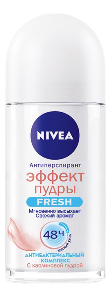 Купить Шариковый дезодорант-антиперспирант Эффект пудры Fresh 50мл, NIVEA