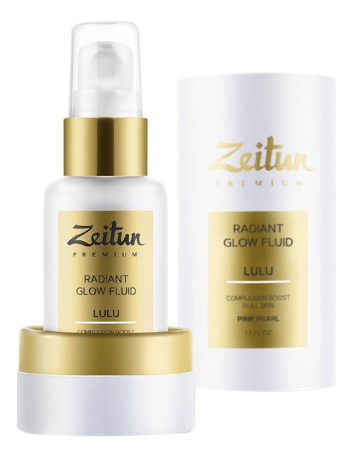 цена на Дневной флюид для лица Розовое сияние Premium Lulu Radiant Glow Fluid 50мл