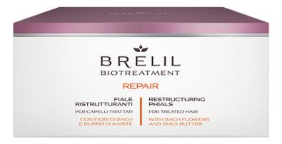 Купить Лосьон для восстановления волос Bio Treatment Repair Phials 12*10мл, Brelil Professional