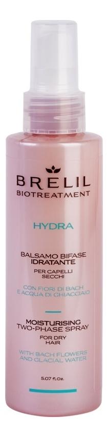 Купить Двухфазный увлажняющий спрей для волос Bio Treatment Hydra 150мл, Brelil Professional