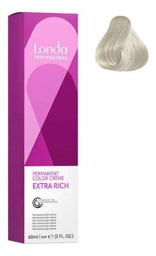 Фото - Крем-краска для волос Londacolor 60мл: 10/16 Яркий блонд пепельно-фиолетовый крем краска для волос londacolor 60мл 10 65 клубничный блонд