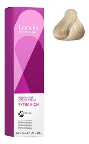 Фото - Крем-краска для волос Londacolor 60мл: 10/38 Яркий блонд золотисто-жемчужный крем краска для волос londacolor 60мл 10 65 клубничный блонд