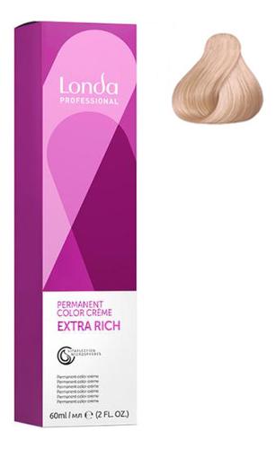Фото - Крем-краска для волос Londacolor 60мл: 10/96 Яркий блонд сандрэ фиолетовый крем краска для волос londacolor 60мл 10 65 клубничный блонд