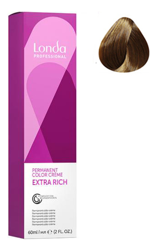 Фото - Крем-краска для волос Londacolor 60мл: 7/71 Блонд коричнево-пепельный крем краска для волос londacolor 60мл 9 1 очень светлый блонд пепельный