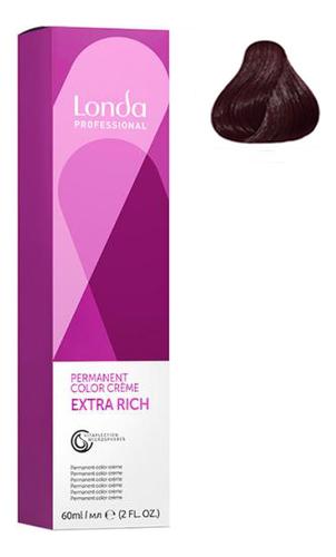Крем-краска для волос Londacolor 60мл: 6/75 Темный блонд коричнево-красный