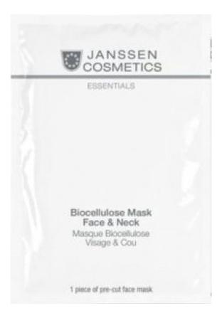 Купить Увлажняющая лифтинг-маска с экстрактом голубики для лица и шеи Biocellulose Mask Face & Neck 1шт, Увлажняющая лифтинг-маска с экстрактом голубики для лица и шеи Biocellulose Mask Face & Neck 1шт, Janssen Cosmetics