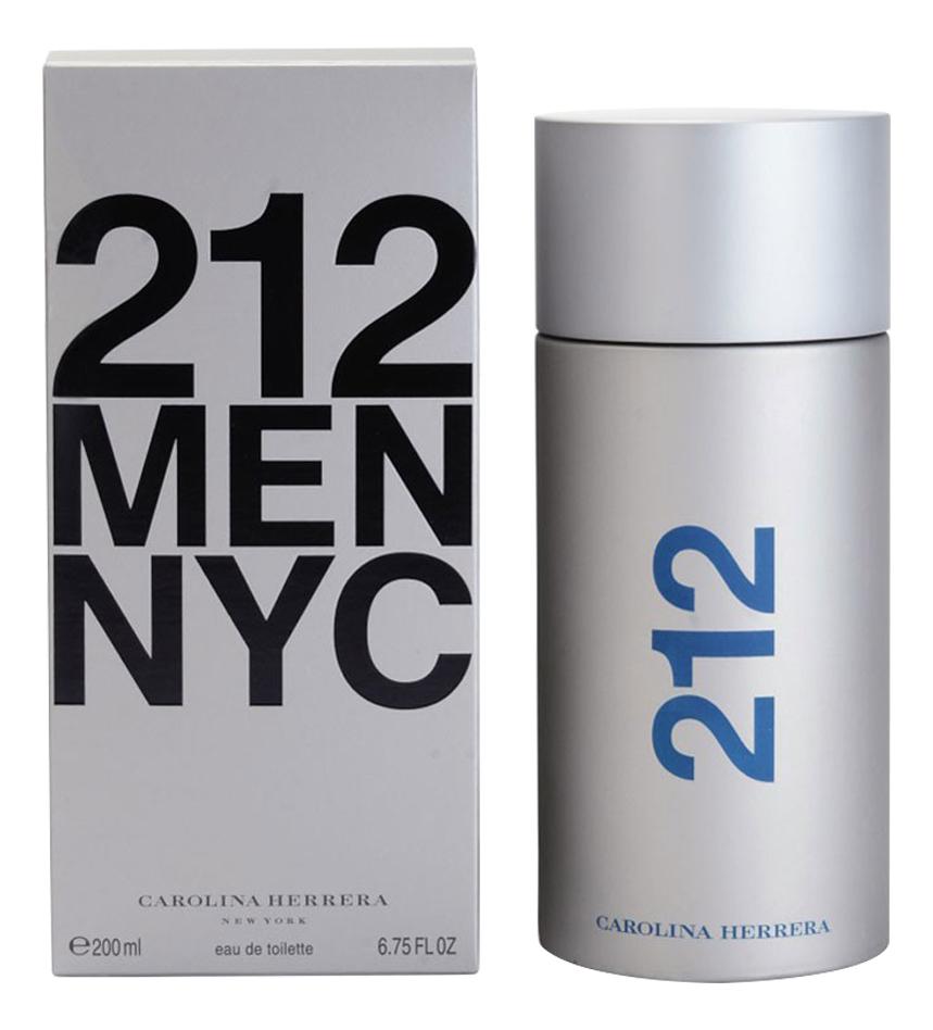 Купить Carolina Herrera 212 Men NYC: туалетная вода 200мл
