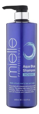 Шампунь для волос Homme Aqua Blue Shampoo 1000мл фото