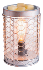 Candle Warmers Аромасветильник Chicken Wire Edison Bulb Illumination