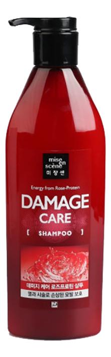 Купить Шампунь для поврежденных волос Damage Care Shampoo 680мл, Mise En Scene