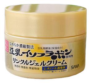 Купить Крем-гель для лица с изофлавонами сои 5 в 1 Soy Milk Gel Cream 100г, SANA