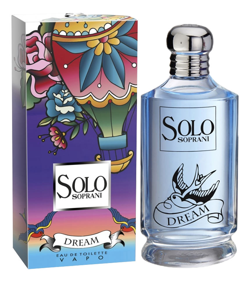 Solo Soprani Dream: туалетная вода 100мл luciano soprani d soir