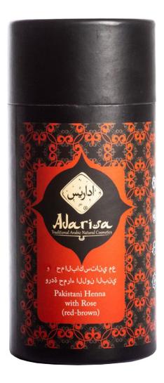 Купить Пакистанская хна для волос с розой 100г, Adarisa