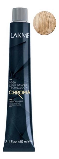 Купить Безаммиачная крем-краска для волос Chroma Ammonia Free Permanent Hair Color 60мл: 10-20 Очень светлый блондин фиолетовый, Lakme