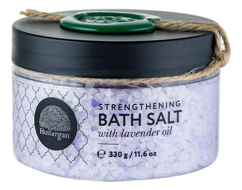 Купить Соль для ванн с маслом лаванды Strengthening Bath Salt With Lavender Oil 330г, Huilargan