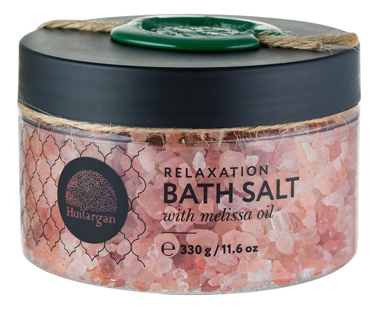 Купить Соль для ванн с маслом мелиссы Relaxation Bath Salt With Melissa Oil 330г, Huilargan