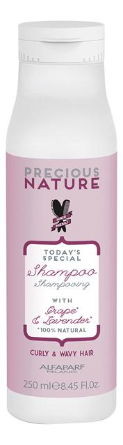 Шампунь для кудрявых Precious Nature Curly Wavy Hair Shampoo 250мл
