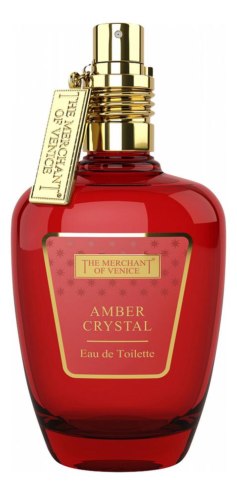 The Merchant Of Venice Amber Crystal: туалетная вода 50мл тестер the merchant of venice pearl bouquet extrait de parfum