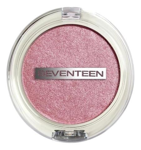 Купить Хайлайтер для лица Illuminating All Over Highlighter 5г: 02 Розовый луч, Seventeen