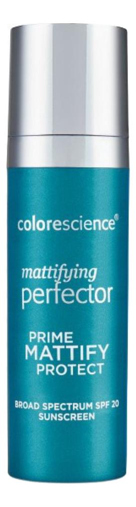 Минеральный матирующий праймер-перфектор для лица Mattifying Perfector Prime Mattify Perfect SPF20 30мл недорого