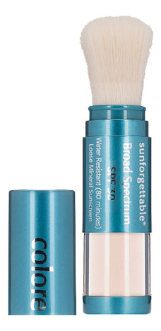 Купить Рассыпчатая минеральная пудра Sunforgettable Mineral Suscreen SPF30 6г: All Clear (светлый), Colorescience