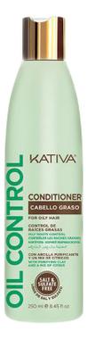 Кондиционер для волос Oil Control Conditioner 250мл