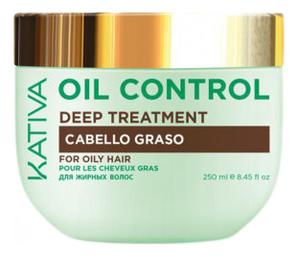 Купить Маска для волос Oil Control Deep Treatment 250мл, Kativa