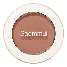 Купить Тени для век матовые Saemmul Single Shadow Matt 1, 6г: BR17 Emotional Brown, The Saem