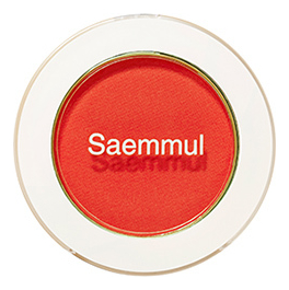 Тени для век матовые Saemmul Single Shadow Matt 1,6г: RD07 The First Red