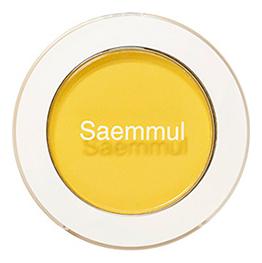 Купить Тени для век матовые Saemmul Single Shadow Matt 1, 6г: YE03 Lemon Candy Yellow, The Saem