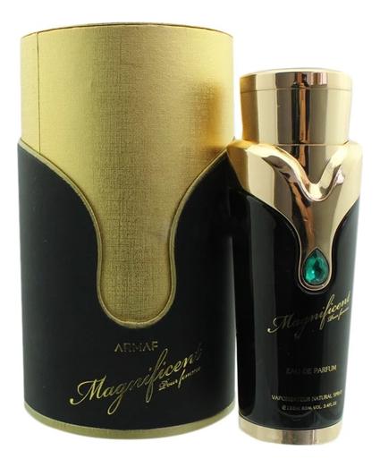 Купить Magnificent Pour Femme: парфюмерная вода 100мл, Armaf