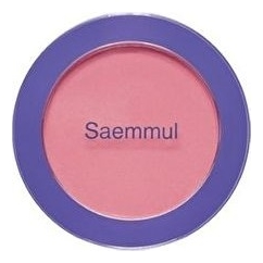 Однотонные румяна Saemmul Single Blusher 5г: PK04 Rose Ribbon note румяна terracotta blusher 04 sugar sense