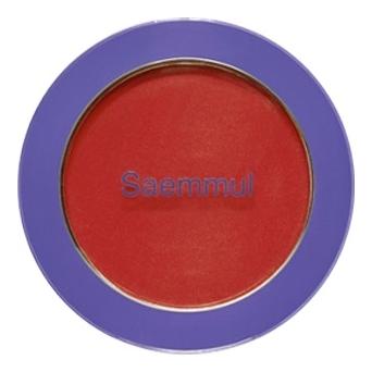 Однотонные румяна Saemmul Single Blusher 5г: RD04 Carrot Red однотонные румяна saemmul single blusher 5г rd02 dry rose