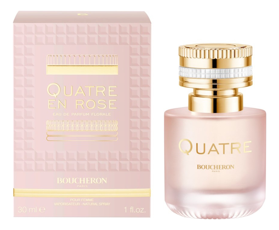 Boucheron Quatre En Rose: парфюмерная вода 30мл