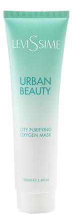 Кислородная очищающая маска для лица Urban Beauty City Purifying Oxygen Mask 100мл недорого