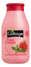 Cottage Гель для душа Revitalizing Shower Gel Strawberry & Mint