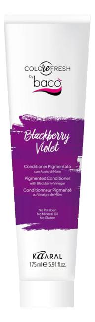 Купить Оттеночный кондиционер для волос Colorefresh 175мл: Blackberry Violet (с ежевичным уксусом), KAARAL