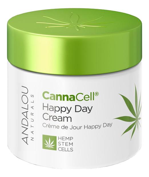 Купить Дневной крем для лица Canna Cell Happy Day Cream 50г, Andalou Naturals