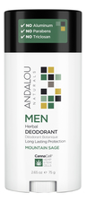 Andalou Naturals Дезодорант для тела Canna Cell Men Deodorant Mountain Sage 75г (горный шалфей)