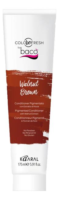 Купить Оттеночный кондиционер для волос Colorefresh 175мл: Walnut Brown (с экстрактом грецкого ореха), KAARAL