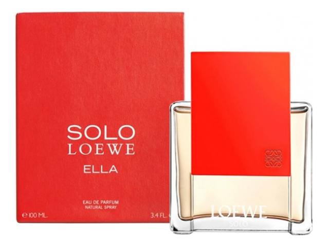 Solo Loewe Ella: парфюмерная вода 100мл