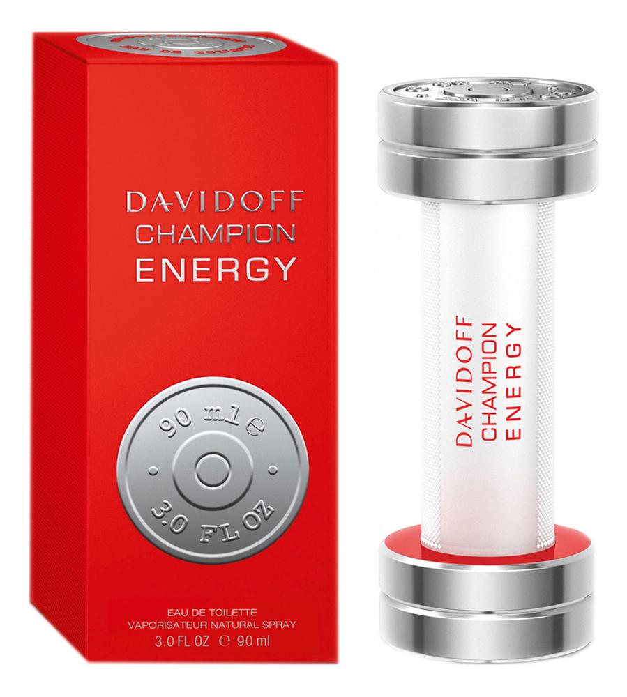Davidoff Champion Energy: туалетная вода 90мл