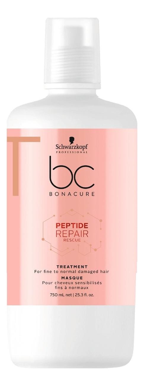 цена на Маска для волос BC Peptide Repair Rescue Treatment: Маска 750мл